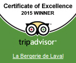 Trip Advisor 2015 holiday winner