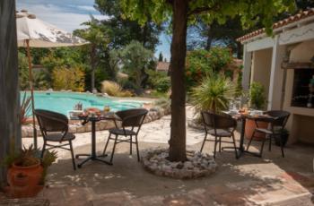 Chambres d'hôtes jardin terrasse